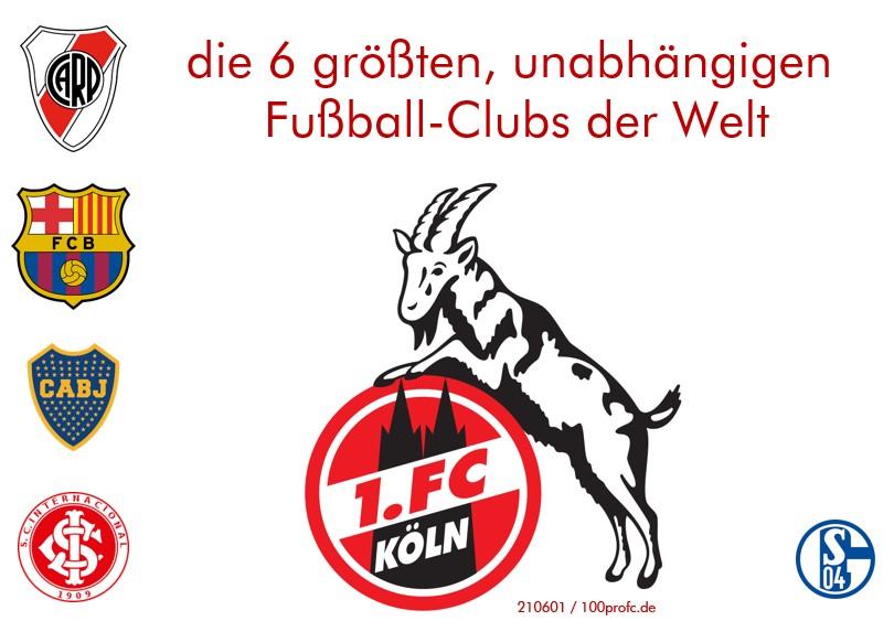 Unser FC - sechstgrößter Fussball-Club der Welt 210607 100profc